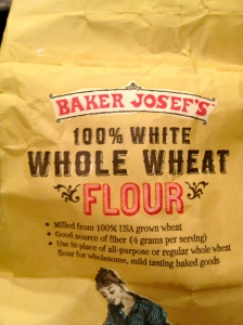 You have heard of white whole wheat flour, right? Still has the nutrients, but can fool the naysayers a bit.