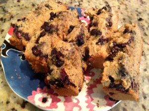 Blueberry Crumble Breakfast Bread