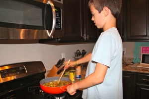 This was Corbin the first time he made this recipe. Little did he know where this would bring him.....