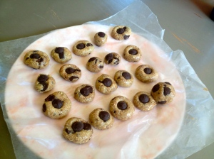 Cookie dough bites.