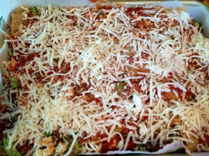 Ready for the oven.