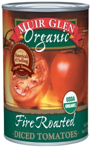 Tomatoes. Canned tomatoes are a good choice.