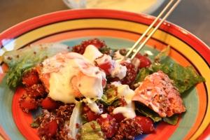 Inga Binga's Salmon Salad.