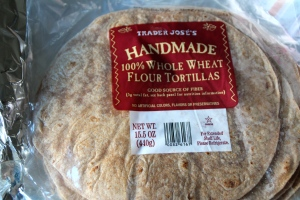 Whole Wheat tortillas.