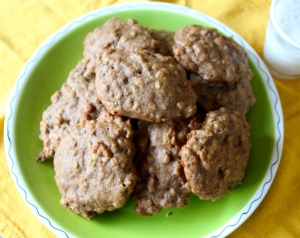 Almond Butter Breakfast Cookies