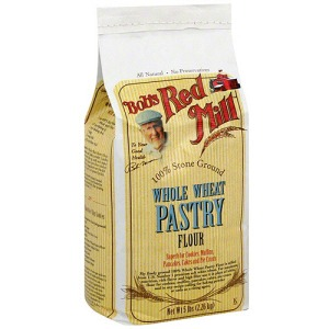 Whole wheat pastry flour. Love this stuff.