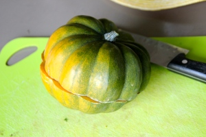 Slice up your squash.