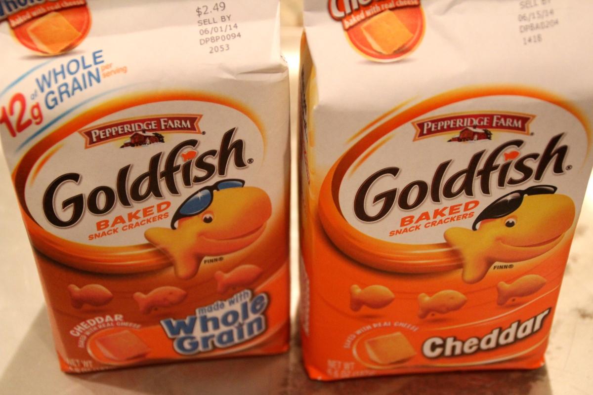 The Goldfish Cracker Taste Test: Whole Grain vs. Regular | My Foodie ...