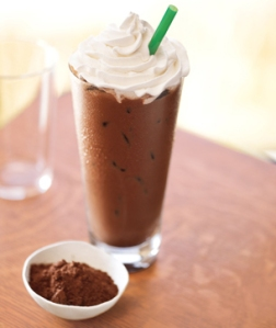 You see this Iced Mocha? 320 calories. Fill you up for maybe 30 minutes.