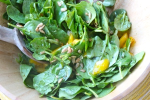 Spinach, sunflower seeds, and yellow peppers? Healthy in ways you may not realize. Read on.