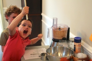 Ditto this reaction. This is exactly how I feel when I am making peanut butter. Or any nut butter for that matter.