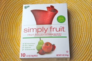 Simply Fruit roll ups