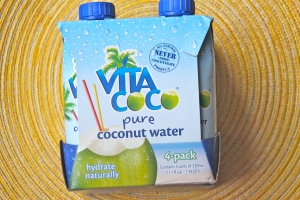 Coconut Water. Super hydrating and way more potassium than a banana.