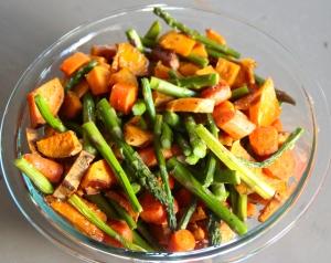 Roast some veggies.