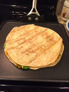 Crisp it up on your pan.