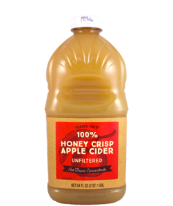 This baby is seasonal and crazy good. From a Honey Crisp apple? Say wha?? Whats not to like.